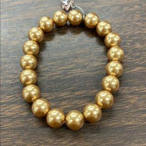 Sabika Gold stretch bracelet